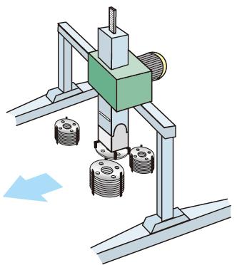 フランジ刻印機自動化_02